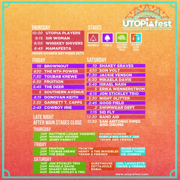 Image result for utopiafest lineup 2019